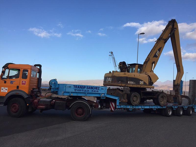 Sondertransporte Maschinen - Transportes Sánchez