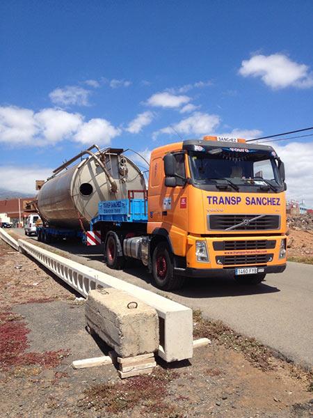 Transporte Especial Silo - Transportes Sánchez