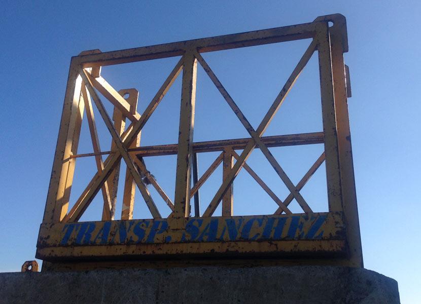 Jaula portapersonas 1,5 m. - Transportes Sánchez
