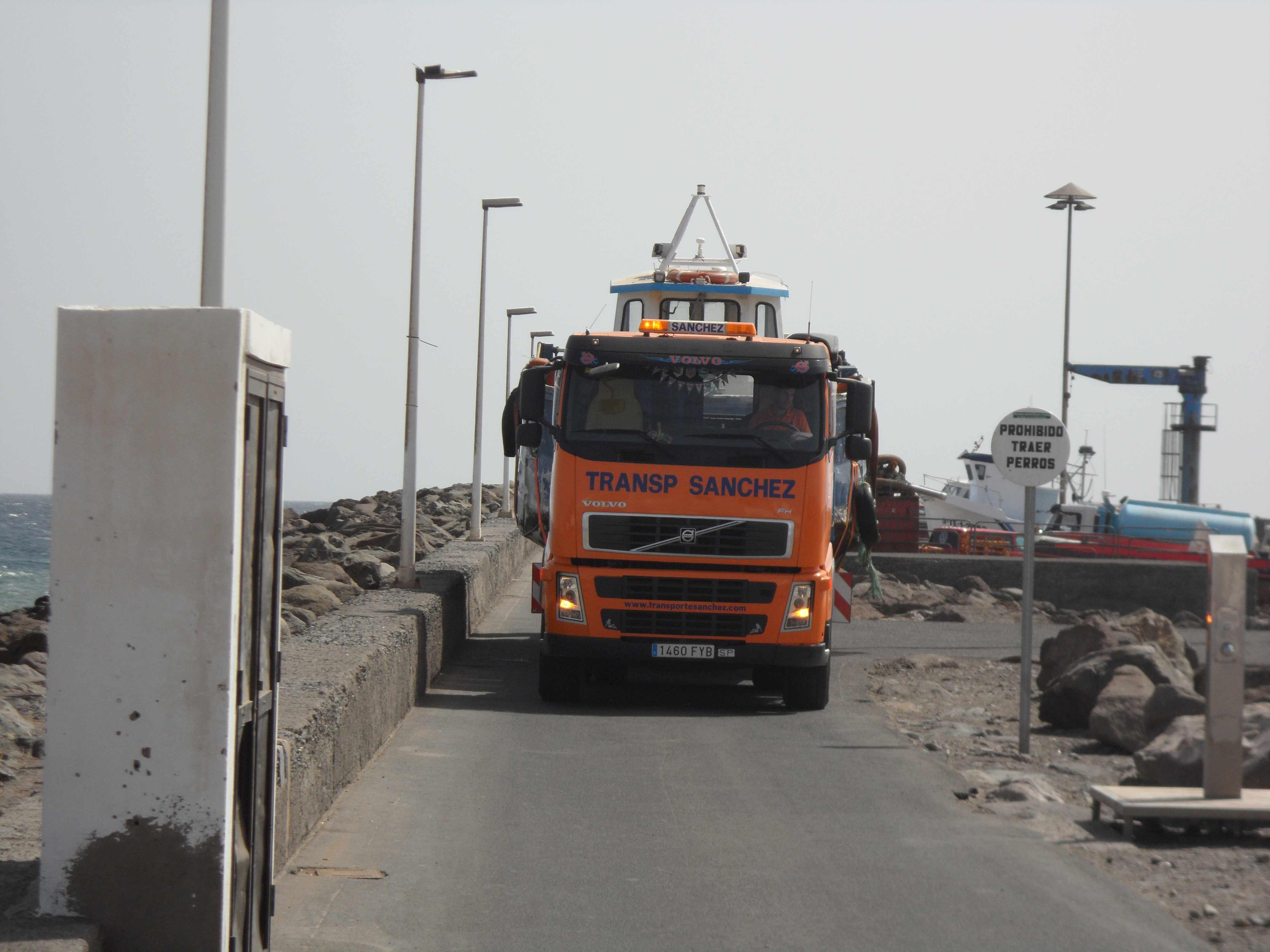 Sondertransporte Booten - Transportes Sánchez