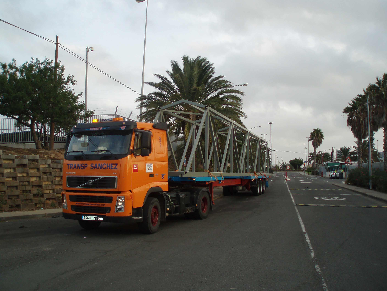 Transporte Especial Estructura - Transportes Sánchez