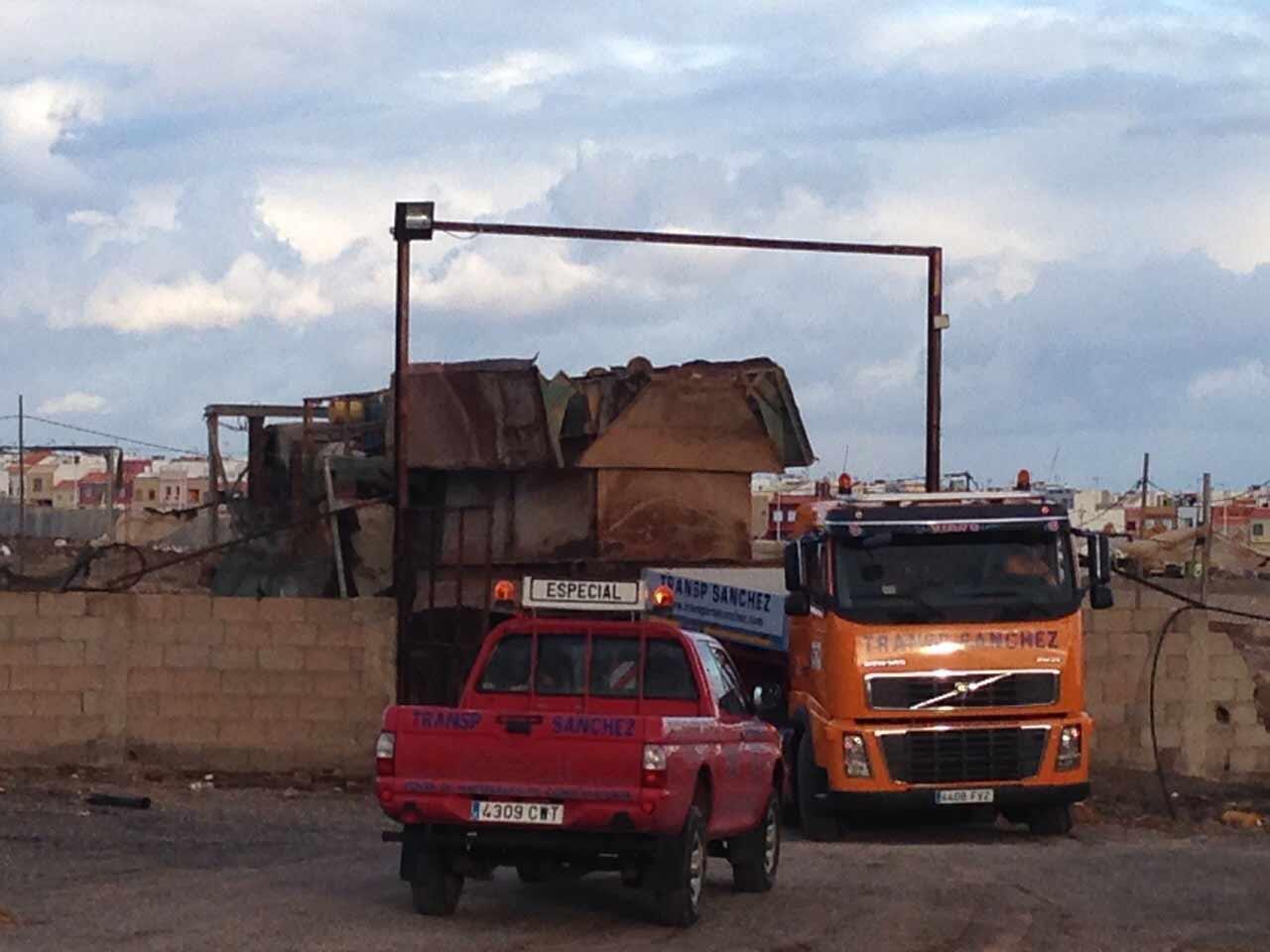 Transporte Especial Máquinas - Transportes Sánchez